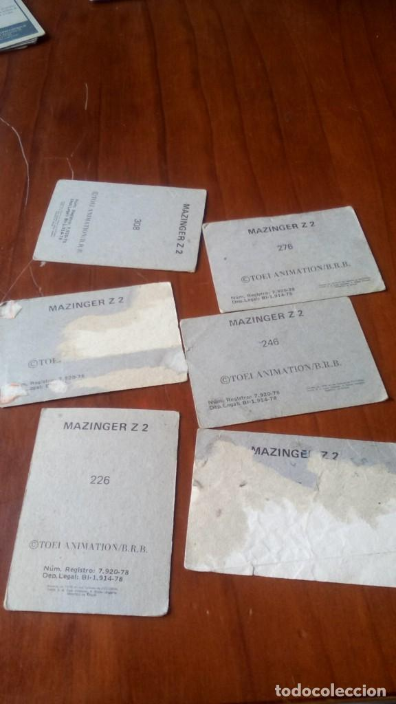 Coleccionismo Cromos antiguos: cromo cromos MAZINGER Z 2 ed FHER - Foto 2 - 201228470
