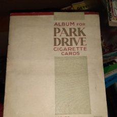 Coleccionismo Cromos antiguos: ALBUM DE ESTRELLAS DE HOLLYWOOD AÑOS 30.CIGARRILLOS PARK DRIVE GALLAHER LTD.LONDON.. Lote 201846476
