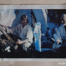 Coleccionismo Cromos antiguos: CROMO DE STAR WARS DESPEGADO N° 62 AÑO 1977 DEL ALBUM LA GUERRA DE LAS GALAXIAS DE PACOSA DOS. Lote 245560080