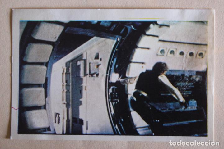 CROMO DE STAR WARS DESPEGADO N° 105 AÑO 1977 DEL ALBUM LA GUERRA DE LAS GALAXIAS DE PACOSA DOS (Coleccionismo - Cromos y Álbumes - Cromos Antiguos)