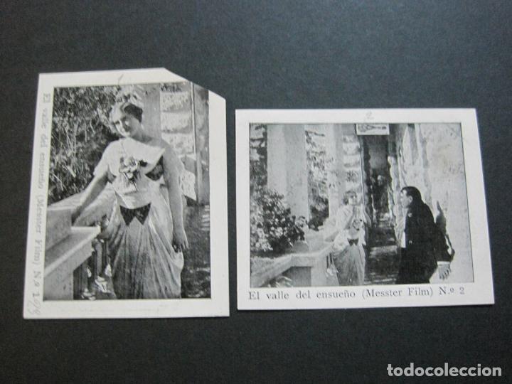 Coleccionismo Cromos antiguos: EL VALLE DEL ENSUEÑO-COLECCION COMPLETA DE 6 CROMOS DE CINE-VER FOTOS-(V-19.735) - Foto 2 - 202326123