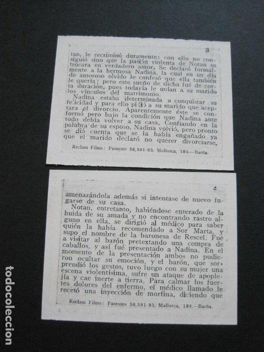 Coleccionismo Cromos antiguos: EL VALLE DEL ENSUEÑO-COLECCION COMPLETA DE 6 CROMOS DE CINE-VER FOTOS-(V-19.735) - Foto 6 - 202326123
