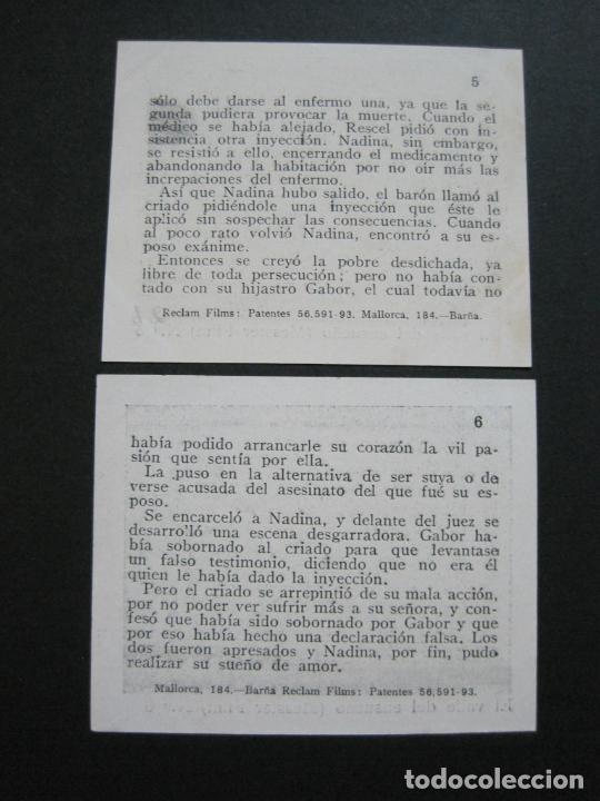 Coleccionismo Cromos antiguos: EL VALLE DEL ENSUEÑO-COLECCION COMPLETA DE 6 CROMOS DE CINE-VER FOTOS-(V-19.735) - Foto 7 - 202326123