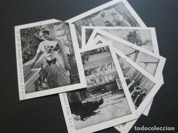 EL VALLE DEL ENSUEÑO-COLECCION COMPLETA DE 6 CROMOS DE CINE-VER FOTOS-(V-19.735) (Coleccionismo - Cromos y Álbumes - Cromos Antiguos)