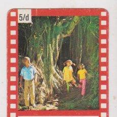 Collectionnisme Cartes à collectionner anciennes: PIPPI CALZASLARGAS EN TAKA-TUKA LAND -- 5 D. Lote 202689647