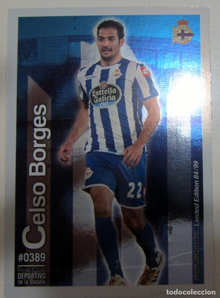 Coleccionismo Cromos antiguos: MC METALCARDS LIMITED EDITION FICHAS QUIZ LIGA 2016 BRILLANTE INIESTA PAREJO LLORENTE GAMEIRO - Foto 5 - 202845387