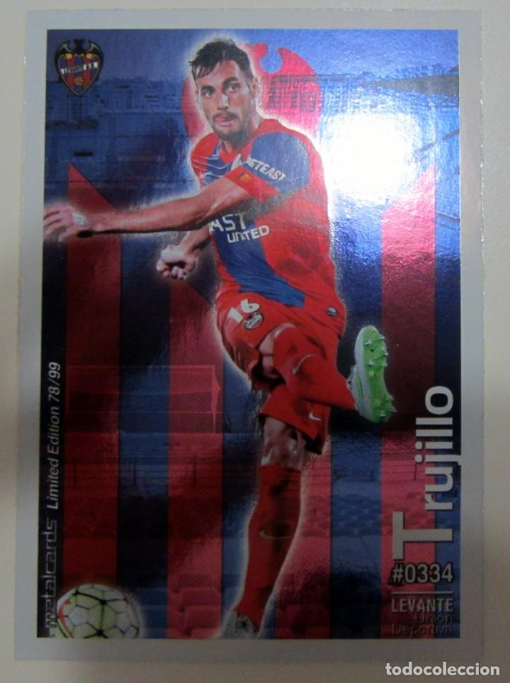 Coleccionismo Cromos antiguos: MC METALCARDS LIMITED EDITION FICHAS QUIZ LIGA 2016 BRILLANTE INIESTA PAREJO LLORENTE GAMEIRO - Foto 7 - 202845387