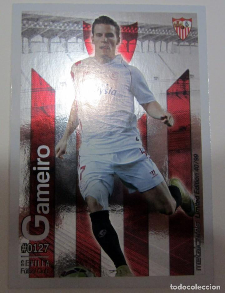 Coleccionismo Cromos antiguos: MC METALCARDS LIMITED EDITION FICHAS QUIZ LIGA 2016 BRILLANTE INIESTA PAREJO LLORENTE GAMEIRO - Foto 13 - 202845387
