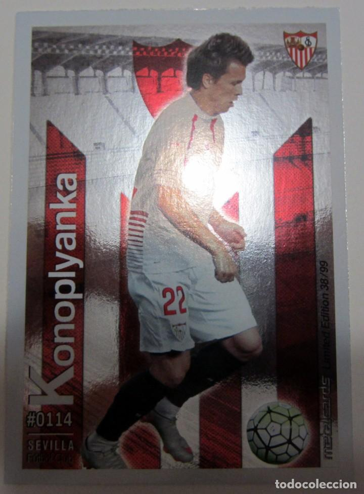 Coleccionismo Cromos antiguos: MC METALCARDS LIMITED EDITION FICHAS QUIZ LIGA 2016 BRILLANTE INIESTA PAREJO LLORENTE GAMEIRO - Foto 15 - 202845387