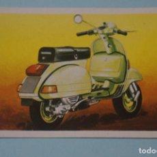 Coleccionismo Cromos antiguos: CROMO DE MOTOS VESPA DESPEGADO Nº 68 AÑO 1982 DEL ÁLBUM A TODO GAS DE MAGA. Lote 202960515