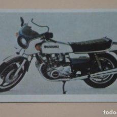 Coleccionismo Cromos antiguos: CROMO DE SUZUKI SIN PEGAR Nº 98 AÑO 1982 DEL ALBUM SUPER MOTOS DEL MUNDO DE IBERDIS S.A.. Lote 245263620