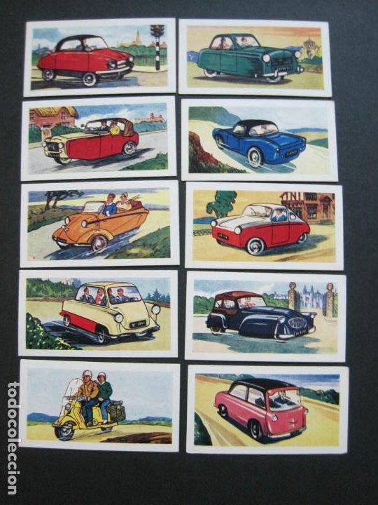Coleccionismo Cromos antiguos: COCHES-MINIATURE CARS & SCOOTERS-COL·COMPLETA 25 CROMOS-CIGARRILLOS MILLS-VER FOTOS-(V-19.939) - Foto 3 - 203192065