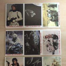 Coleccionismo Cromos antiguos: STAR WARS BURGER KING 1980 TRADING CARDS. Lote 203568141