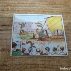 Coleccionismo Cromos antiguos: CROMO CHICLE GLOBO DESCONOCEMOS COLECCION Nº 3. Lote 203757196