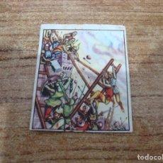 Coleccionismo Cromos antiguos: CROMO CHICLE GLOBO DESCONOCEMOS COLECCION Nº 6. Lote 203758316