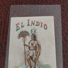 Coleccionismo Cromos antiguos: CROMO EL INDIO. Lote 204596301