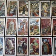 Coleccionismo Cromos antiguos: LOTE DE 32 CROMOS DE LA COLECCION UN VIAJE A LA LUNA CHOCOLATES JAIME BOIX. Lote 204648561