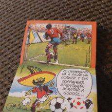 Coleccionismo Cromos antiguos: CROMO PHOSKITOS PIQUÉ MÉXICO 86 #7 HISTORIETA. Lote 205292056