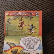 Coleccionismo Cromos antiguos: CROMO PHOSKITOS PIQUÉ MÉXICO 86 #24 HISTORIETA. Lote 205293846