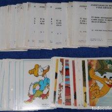 Coleccionismo Cromos antiguos: AVENTURAS DE MICKEY Y SUS AMIGOS - FHER (1976). Lote 205474212