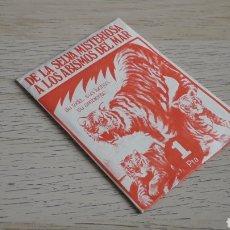 Coleccionismo Cromos antiguos: SOBRE CON SUS CROMOS Y SIN ABRIR, ALBUM SELVA MISTERIOSA FHER ORIGINAL AÑO 1972 EN EXCELENTE ESTADO. Lote 205604498
