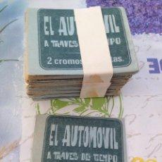 Coleccionismo Cromos antiguos: EL AUTOMÓVIL A TRAVÉS DEL TIEMPO 100 SOBRES. Lote 205605510