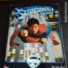 Coleccionismo Cromos antiguos: ALBUM COMPLETO SUPERMAN THE MOVIE 1978 FHER. Lote 206310753