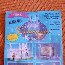 Coleccionismo Cromos antiguos: ALBUM DE CHICLES CHABEL. Lote 206338888
