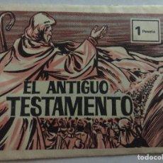 Coleccionismo Cromos antiguos: SOBRE CROMOS EL ANTIGUO TESTAMENTO CONTIENE LOS CROMOS. Lote 206370651