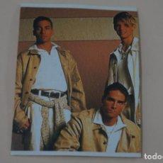 Coleccionismo Cromos antiguos: CROMO DE BACKSTREET BOYS FOREVER SIN PEGAR Nº 11 AÑO 1997 DEL ALBUM BACKSTREET BOYS DE DS. Lote 206784126