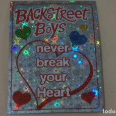 Coleccionismo Cromos antiguos: CROMO DE BACKSTREET BOYS FOREVER SIN PEGAR Nº 14 AÑO 1997 DEL ALBUM BACKSTREET BOYS DE DS. Lote 206784193