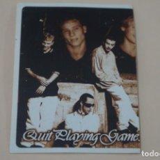 Coleccionismo Cromos antiguos: CROMO DE BACKSTREET BOYS FOREVER SIN PEGAR Nº 16 AÑO 1997 DEL ALBUM BACKSTREET BOYS DE DS. Lote 206784198