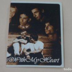 Coleccionismo Cromos antiguos: CROMO DE BACKSTREET BOYS FOREVER SIN PEGAR Nº 17 AÑO 1997 DEL ALBUM BACKSTREET BOYS DE DS. Lote 206784207