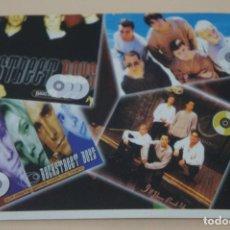 Coleccionismo Cromos antiguos: CROMO DE BACKSTREET BOYS FOREVER SIN PEGAR Nº 22 AÑO 1997 DEL ALBUM BACKSTREET BOYS DE DS. Lote 206784228