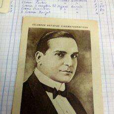 Coleccionismo Cromos antiguos: CROMO TEMA CINE DEL ACTOR. Lote 206906521