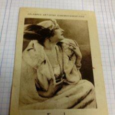 Coleccionismo Cromos antiguos: CROMO TEMA CINE DE LA ACTRIZ FERNARDA. Lote 206907202