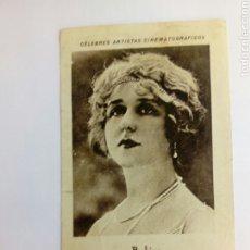 Coleccionismo Cromos antiguos: CROMO TEMA CINE DE LA ACTRIZ. Lote 206908952