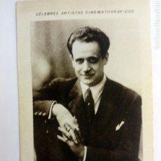 Coleccionismo Cromos antiguos: CROMO TEMA CINE ACTOR. Lote 206909892