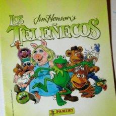 Coleccionismo Cromos antiguos: LOTE 15 CROMOS LOS TELEÑECOS X 1 EURO. Lote 206995166