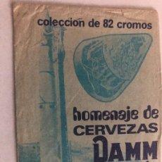 Coleccionismo Cromos antiguos: SOBRE CROMOS ALBUM HOMENAJE DE CERVEZAS DAMM A LA CONQUISTA DEL ESPACIO SIN CROMOS. Lote 207008136