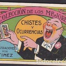 Coleccionismo Cromos antiguos: COLECCION COMPLETA 25 CROMOS COLECCION DE LOS MEJORES CHISTES Y OCURRENCIAS. Lote 207061487