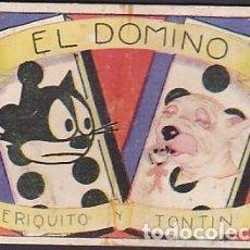 Coleccionismo Cromos antiguos: COLECCION COMPLETA EL DOMINO PERIQUIO Y TONTIN CHOCOLATE EVARISTO JUNCOSA. Lote 207115892