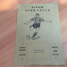 Coleccionismo Cromos antiguos: CELTA COLECCION ALBUM FUTBOL COMPLETO VALENCIANA 1941 (COIB93). Lote 207117051