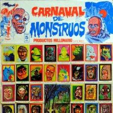 """Coleccionismo Cromos antiguos: ALBUM """"CARNAVAL DE MONSTRUOS"""". Lote 207118060"""