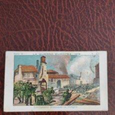 Coleccionismo Cromos antiguos: CROMO N.405 SERIE 21 LA GUERRA EUROPEA. Lote 207120191