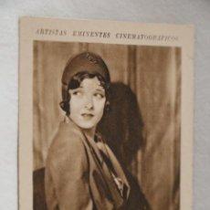 Coleccionismo Cromos antiguos: MARION NIXON ARTISTAS EMINENTES CINEMATOGRAFICOS LIBRERIA Y PAPELERIA MUÑOZ ZAMORA AÑOS 30CINE. Lote 207231431