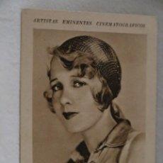 Coleccionismo Cromos antiguos: ANITA PAGE ARTISTAS EMINENTES CINEMATOGRAFICOS LIBRERIA Y PAPELERIA MUÑOZ ZAMORA AÑOS 30CINE. Lote 207232133