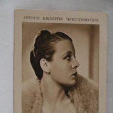 Coleccionismo Cromos antiguos: RITA LA ROY ARTISTAS EMINENTES CINEMATOGRAFICOS LIBRERIA Y PAPELERIA MUÑOZ ZAMORA AÑOS 30CINE. Lote 207233060
