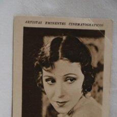 Coleccionismo Cromos antiguos: ROSITA MORENO ARTISTAS EMINENTES CINEMATOGRAFICOS LIBRERIA Y PAPELERIA MUÑOZ ZAMORA AÑOS 30CINE. Lote 207233236