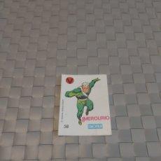 Coleccionismo Cromos antiguos: CROMO CROPAN - SUPER HEROES - N° 58 MERCURIO. Lote 207233498